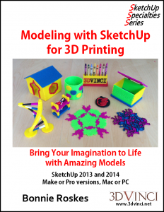 Modeling with SketchUp for 3D Printing Cover